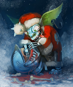 Заводной Злой Санта