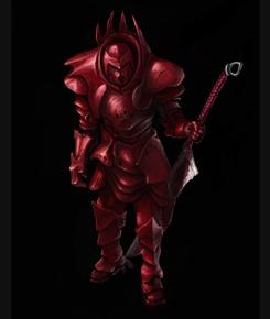 Красный Демонорыцарь