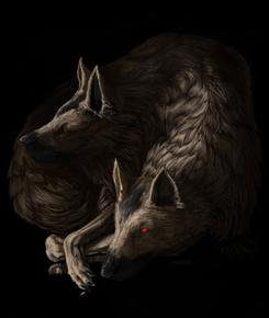 Пещерный волк